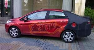 Ford Fiesta sedan