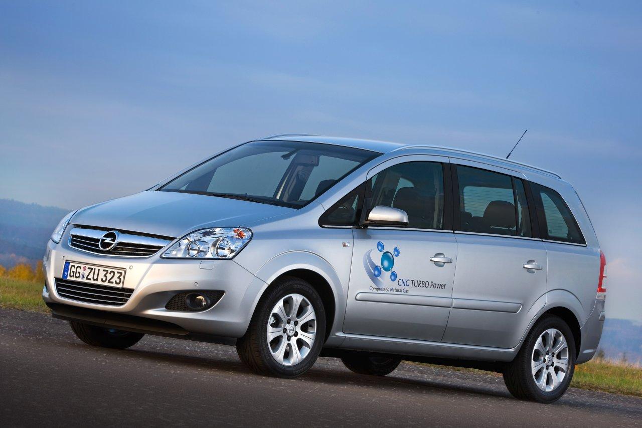 Opel Zafira GPL