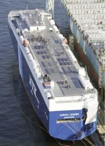 Auriga leader - nava cu propulsie partial solara