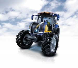 Tractor New Holland - hidrogen