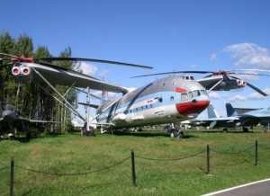 Mi-V12 expus pentru public