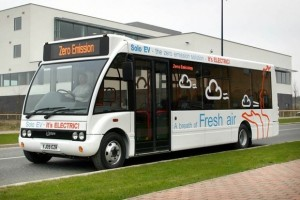 Autobuzul Optare Solo EV