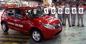 Dacia Sandero 100000