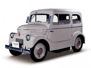 Nissan Tama - automobil electric 1947