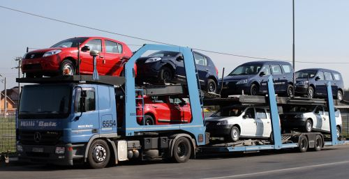 Logistica Dacia
