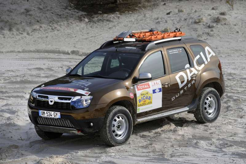 Dacia Duster in Raliul Gazelelor