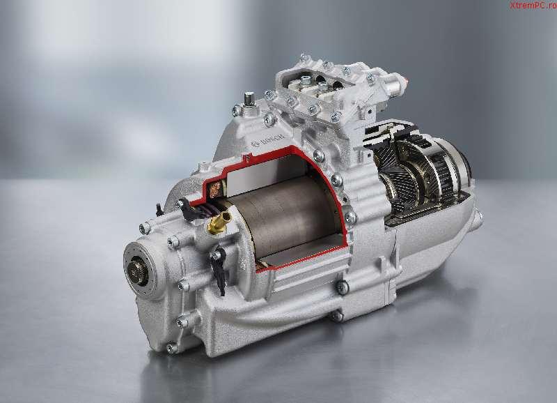 Unitate electrica Bosch pentru vehicule electrice si hibrid