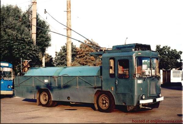 Camion electric rusesc