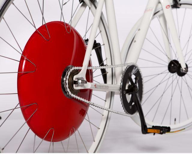 Copenhagen Wheel de la Superpedestrian