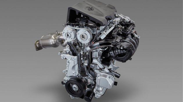 Motor Toyota de 2.5 litri
