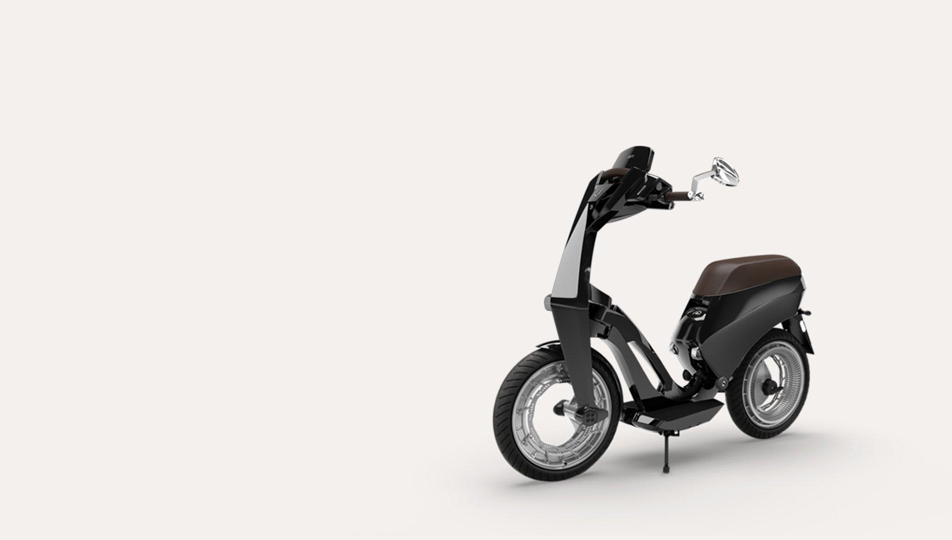 Ujet un nou scuter electric prezentat la ces 2018 autogreen for Designermobel nachbau england