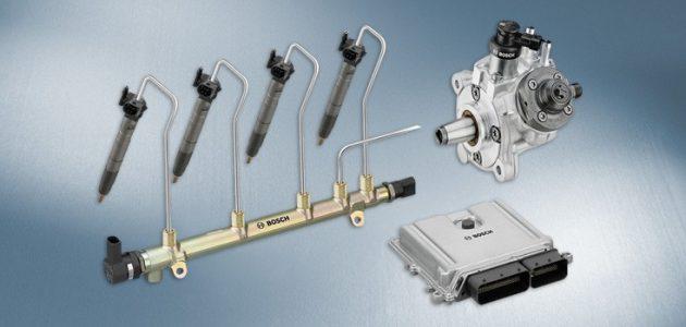 Sistem de injecție common-rail de la Bosch